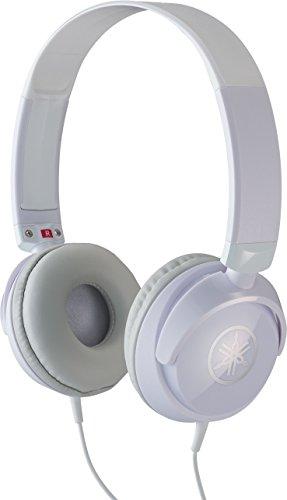 Yamaha HPH-50WH Compact Closed-Back Headphones, White