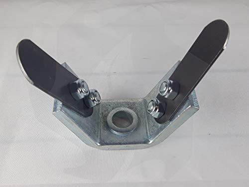 Fresa zappetta universale in alluminio MATADOR per decespugliatore a due denti professionale