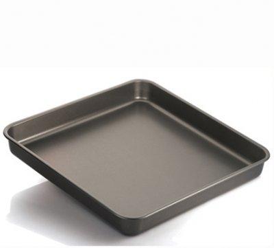Vespa Teglia da Forno Antiaderente Alluminio 99.5% per rustici pizze Pasta Gateau 40X40cm H6cm -Made...