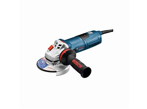 Bosch Professional 060179F002 Meuleuse Angulaire GWS 13-125 (1300 W, Régime à Vide : 11500 tr/min, dans Carton) Bleu