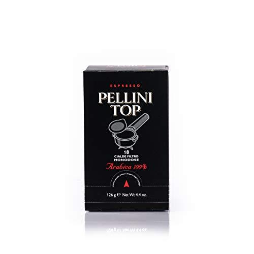 Pellini Caffè Espresso Pellini Top Arabica 100%, Cialde Compatibili E.S.E., 150 Capsule