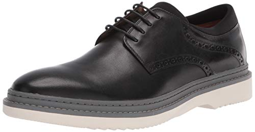 Steve Madden Men's Daryll Oxford, Black Leather, 10 M US