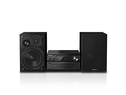Panasonic SC-PMX94EG-K Micro HiFi System (120 W RMS, Digital DAB+, CD, UKW , Bluetooth, USB, AUX) schwarz