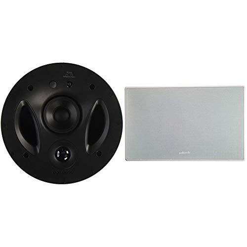 Polk Audio 70-RT 3-Way in-Ceiling Speaker (2.5 Driver, 7 Sub) - The Vanishing Series   Power Port & 255c-RT in-Wall Center Channel Speaker (2) 5.25' Drivers - The Vanishing Series