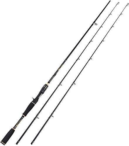 Sougayilang Canna da pesca, 30 tonnellate di fibra di carbonio Casting & Spinning Rods, durevole leggero ultra-sensibile Casting & Spinning Pali, Twin-Tips Rods-2QB180