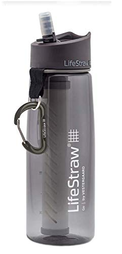 LifeStraw Go 2-Stage - Botella con filtro de agua de 2 etapas