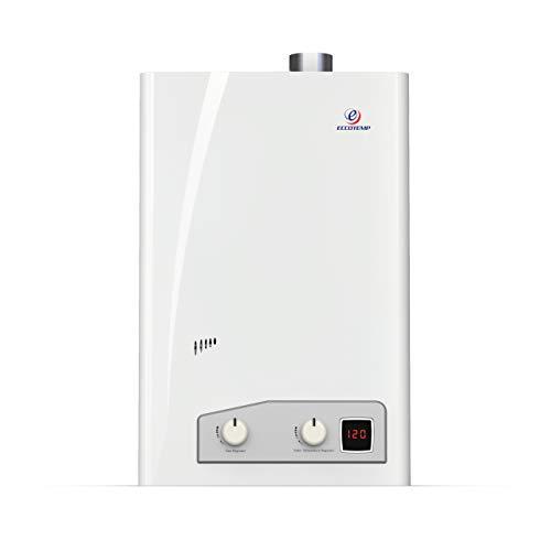 Eccotemp FVI12-LP Liquid Propane Gas Tankless Water Heaters, White
