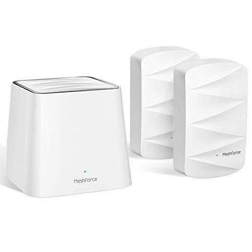 MeshForce Whole Home Mesh WiFi System M3 Suite (1 WiFi...