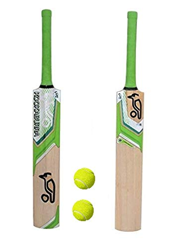 PMG Junior Cricket Bat with 2 Balls Size 4 for 7-10 Year Kids