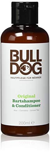 Bulldog - Shampoo da barba e balsamo da uomo, 1pezzo, 200 ml