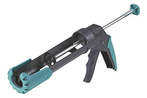 wolfcraft 1 MG 200 ERGO mechanische Kartuschenpresse 4352000; Ergonomische Kartuschenpistole mit gummiertem Handgriff und drehbarer Griffhülse; Für 310 ml Kartuschen geeignet