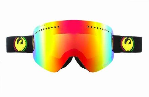 Dragon Alliance Nfx Snow Goggles, Unisex, Rasta, Unisex