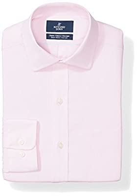 Long-sleeve stretch poplin non-iron dress shirt featuring box-pleat back yoke, spread collar and pocket at chest Luxury Supima cotton with a lightweight finish and stretch for a flexible feel Supima Cotton is a luxury fiber grown in the United States...