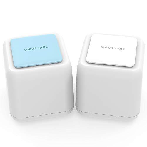 WAVLINK メッシュ WiFi 無線LANルーター AC1200デュアルバンド866+400Mbps 2ユニットセット メッシュ Wi-Fi...