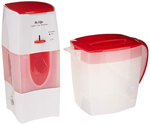 Mr. Coffee TM75RS-RB-1 3-Quart Tea and Iced Coffee Maker,...