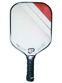 """Engage Pickleball ENGAGEPICKLEBALL Encore Pro 15.5"""" x 8.125"""" Paddle – Red (ENP102)"""