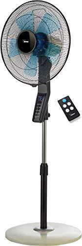 Bimar Silente VPS40 - Standventilator extra leise mit fernbedienung, Timer touch screen, Durchmesser 40 cm, 3 Laufgeschwindigkeiten, Ventilator oszillierend, 3 Vorprogrammierte, Höhenverstellbar