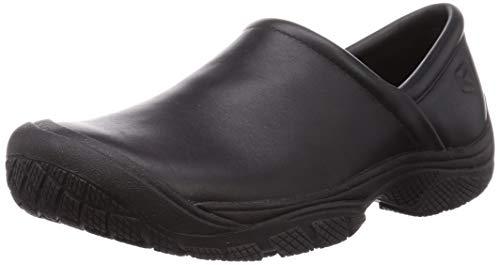 KEEN Utility Men's PTC Slip On Work Shoe, 10.5 M US, Black/Black