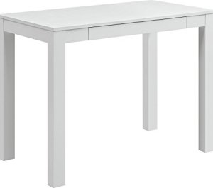 Ameriwood Home 9178096 Parsons Desk with Drawer, White
