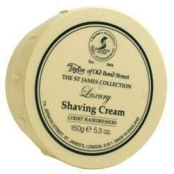 St. James Collection Shaving Cream Bowl 150g shave cream by Taylor of Old Bond Street