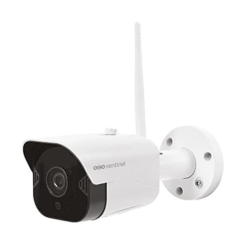 SCS SENTINEL Cámara de vigilancia para exteriores-Videovigilancia-Cámara de seguridad-Cámara de vigilancia para exteriores Full HD-CBS SVI0056 Sentinel