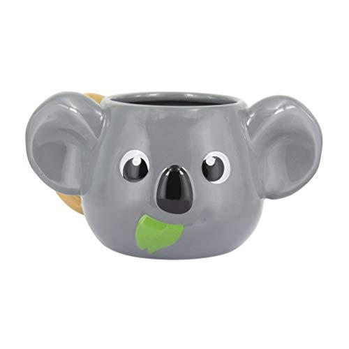 Paladone Taza de Desayuno 3D Koala (Gris), Cerámica, Talla Grande