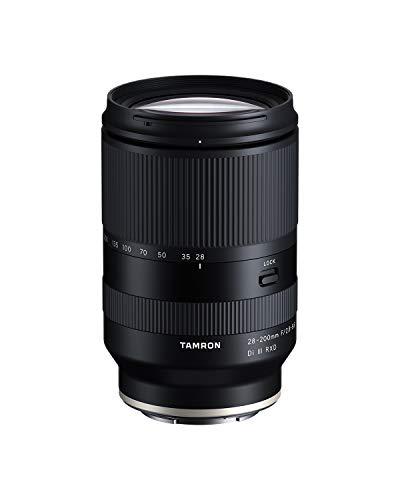 Tamron 28-200 F/2.8-5.6 Di III RXD Sony ミラーレスフルフレーム/APS-C Eマウント用、モデル番号:AFA071S700。