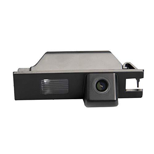 HD 720p Backup Retrovisore Telecamera di Parcheggio Retrovisore per Monitor Universale (RCA) (Colore: Nero) per Opel Astra H J Corsa D Meriva A Vectra C Zafira B FIAT Grande Insignia