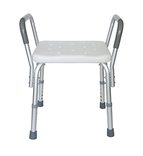 MedMobile Heavy Duty Bath Bench with Removable Armrests