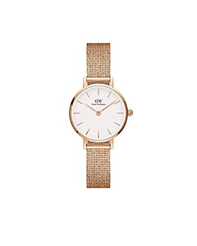 Daniel Wellington Damen-Uhren Analog Quarz One Size Roségold 32018163