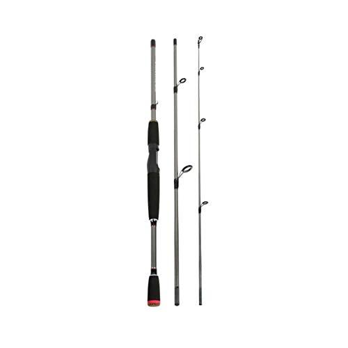 LinZX Spinning Canna da Pesca di richiamo di Pesca elettrica Sezione di Asta 3 amovibilmente Mano filatura Rod Pesca Spinning,SA,1.8 m