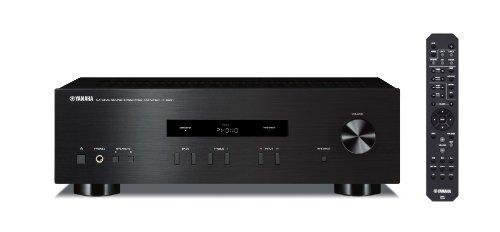 Yamaha A-S201 Amplificatore Integrato stereo da 100 W, Nero