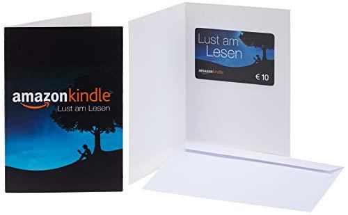 Amazon.de Grußkarte mit Geschenkgutschein - 10 EUR (Kindle)