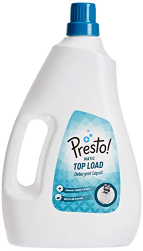 Amazon Brand - Presto! Matic Top Load Detergent Liquid - 1 L