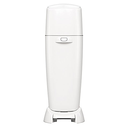 9. Playtex Diaper Genie Complete Diaper Pail with Odor Lock Technology, White