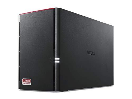 Buffalo LinkStation 520 LS520DE-EU NAS a 2 bay (1.0GHz dual-core, DDR3 256 MB) nero