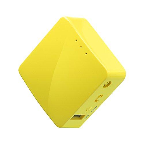 GL.iNet GL-MT300N-V2 Mini Travel Router, WiFi Converter, OpenWrt Pre-Installed, Repeater Bridge, 300Mbps High Performance, OpenVPN Client