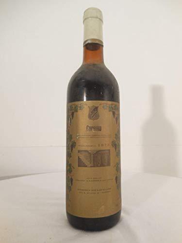 carema rouge 1973 - italie: une bouteille de vin.