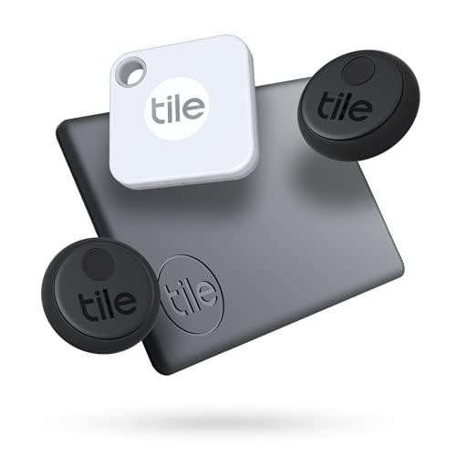 Tile Essentials (2020) 4-pack (1 Mate, 1 Slim, 2 Stickers) -...