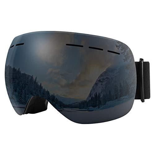 Bfull Occhiali da Sci OTG, Occhiali da Snowboard Antivento antiappannamento per Uomo, Donna e...