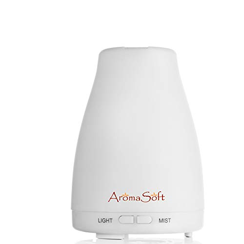 Fine Line Living Essential Oil Aromatherapy Diffuser | Natural Ultrasonic Cool Mist Diffusion for All Your Aroma Oils-Easy to Use for A Healthier You-Portable-Create Your Own Home Spa-Auto Shut-Off