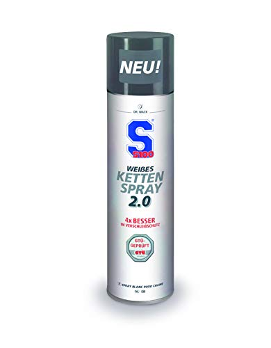 S100 Weißes Kettenspray 2.0, 400 ml