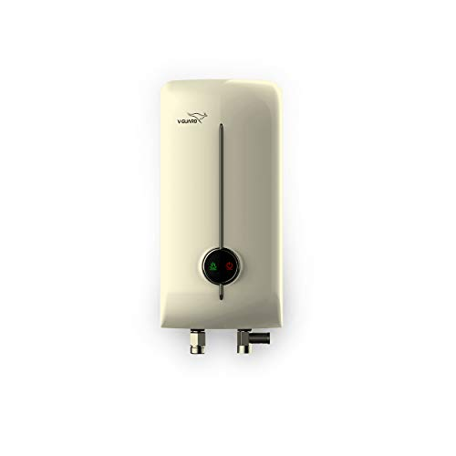 V-Guard Victo Insta Lite 3 Litre Instant Water Heater; Ivory (3000 W)