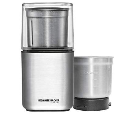 ROMMELSBACHER Gewürz und Kaffee Mühle EGK 200