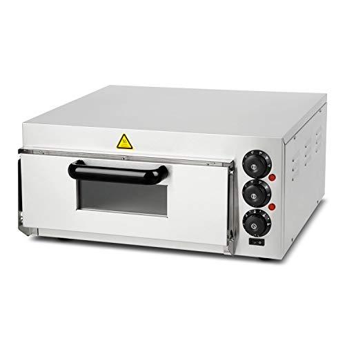 Vertes forno per pizza professionale elettrico (2000 watt, con 1 camera, intervallo di temperatura...