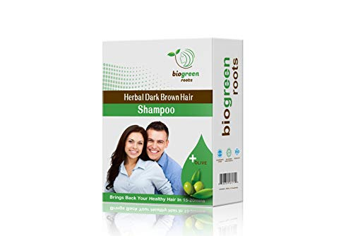 Herbal Dark Brown Hair shampoo