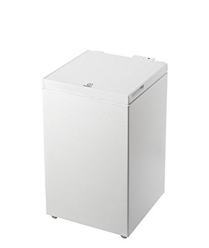 Indesit OS 1A 100 Congelatore a Pozzetto, A+, 97 L, Bianco