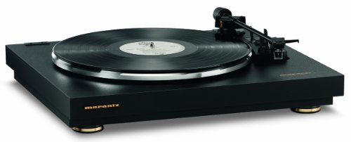 Marantz TT42P Fully Automatic Belt Drive Turntable | Built-in Phono Amp for Easy Connectivity | On-Board Phono EQ,Black