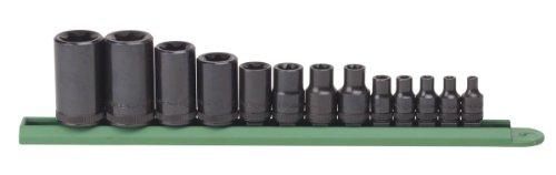GEARWRENCH 13 Pc. 1/4', 3/8' & 1/2' Drive External Torx Socket Set - 80583