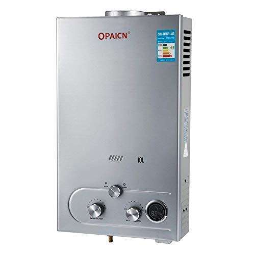 Olibelle 10L-LPG 12 KW Chauffe-eau Gaz Radiateur Pour Eau à Gaz Propane Chauffage d'Eau Instantané